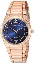 Ellen Tracy Women's Quartz Metal and Alloy Casual Watch, Color:Blue (Model: ET5293RGNV)