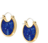 Pamela Love Mojave lazuli lapis earrings