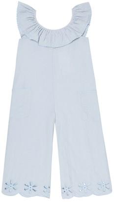 Stella McCartney Kids Linen-blend jumpsuit