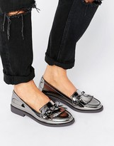Carvela Metallic Fringe Loafer