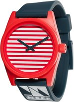 Neff NF0201-NTCL Men's Daily Nautical Designer Plastic Black Rubber Band Watch