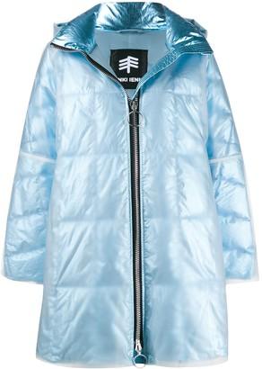 Ienki Ienki Iridescent Oversized Puffer Coat