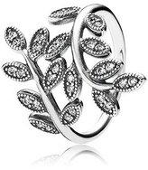 Pandora 190921cz Sparkling Leaves Ring 52