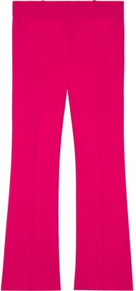 Gucci Viscose ankle length bootcut trousers