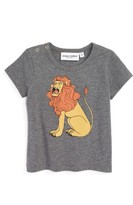 Mini Rodini Infant Boy's Lion Organic Cotton T-Shirt
