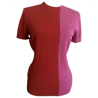J. Lindeberg Red Wool Top for Women