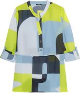 Raoul Printed chiffon blouse