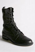 Lace Up Foldover Boot