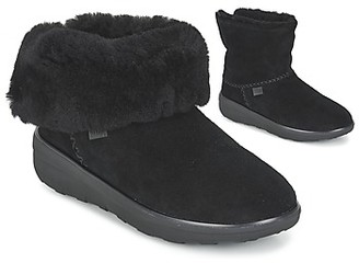 FitFlop MUKLUK SHORTY 2 BOOTS women's Mid Boots in Black