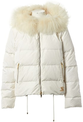 Celine White Synthetic Coats