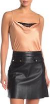 Socialite Cowl Neck Lace Bodysuit