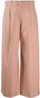Seventy Wide Leg Belted Trousers