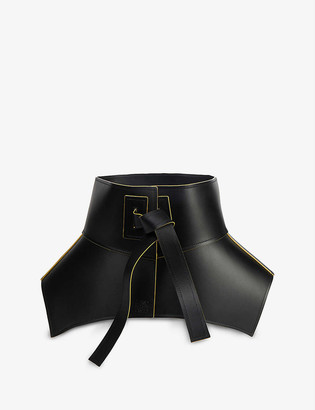 Loewe Obi wide leather belt