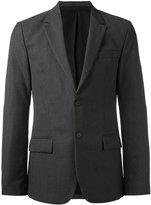 Ami Alexandre Mattiussi Lined 2 Button Jacket - men - Viscose/Virgin Wool - 44