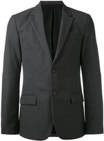 Ami Alexandre Mattiussi - Lined 2 Button Jacket - men - Viscose/Virgin Wool - 46