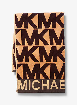 Michael Kors Logo Cotton Towel