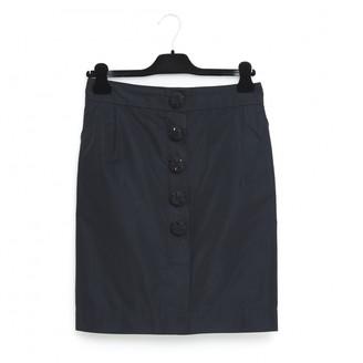 Louis Vuitton Black Polyester Skirts