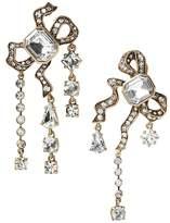 Banana Republic Jeweled Asymmetric Bow Clip-On Earring
