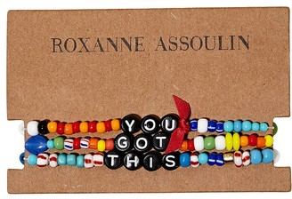 Roxanne Assoulin You Got This camp bracelets