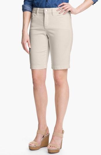 NYDJ 'Helen' Stretch Denim Shorts