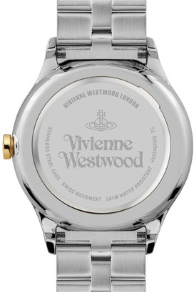 Vivienne Westwood The Saville Blue Sunray Dial Stainless Steel Bracelet Ladies Watch