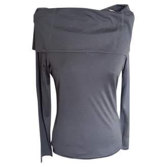 Ungaro Grey Silk Tops