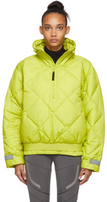 adidas by Stella McCartney Green Pull-On Puffer Jacket