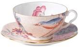 Wedgwood Peach Cuckoo Teacup and Saucer