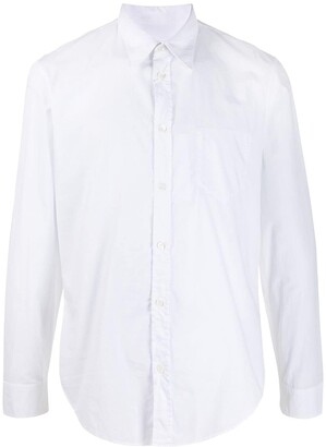 Maison Margiela Long-Sleeved Cotton Shirt
