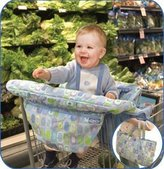 Graco Shopping Cart Cover Boy pattern (Discontinued by Manufacturer)