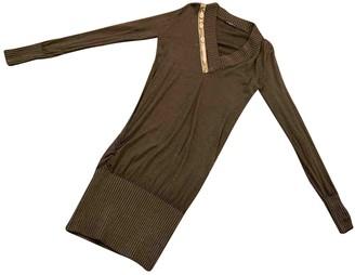 Replay Brown Wool Dress for Women