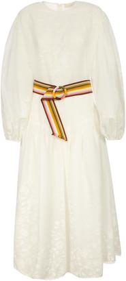 Zimmermann Applique Long Dress