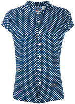 Blue Blue Japan polka dot shirt - women - Linen/Flax/Rayon - S