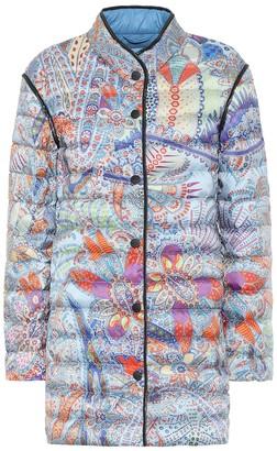 Etro Printed down coat