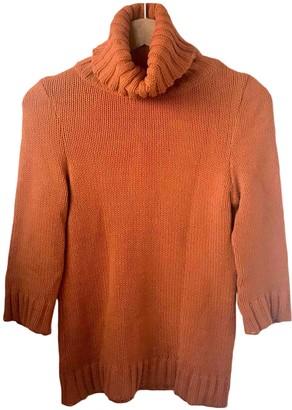 Isabel Marant Orange Cotton Knitwear