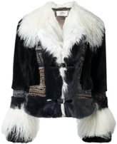 Urban Code Urbancode 'Air Force' faux fur jacket