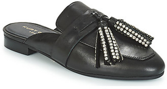 KG by Kurt Geiger KAISER CRYSTAL women's Mules / Casual Shoes in Black