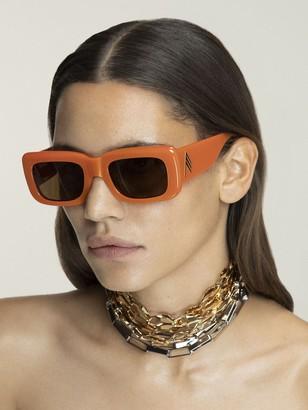 ATTICO Marfa Acetate Squared Sunglasses