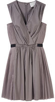 3.1 Phillip Lim / Pleated Dress with Elastic Belt