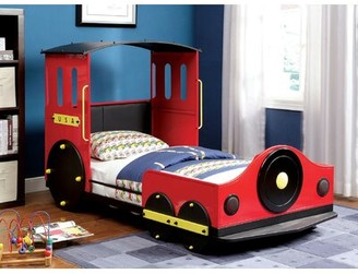 Zoomie Kids Burntwood Twin Car Bed