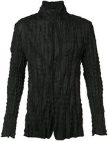Issey Miyake high neck slim-fit shirt
