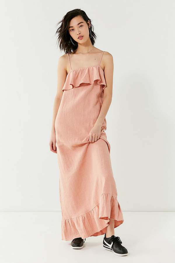 Lucca Couture Ruffle Maxi Dress