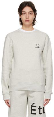 Études Grey Story Logo Sweatshirt