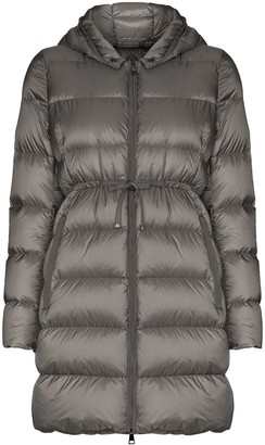 Moncler Bannec long puffer jacket