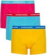 Björn Borg Stretch cotton boxer briefs - set of three