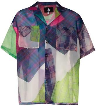 Duoltd Bandana Printed Sheer Shirt