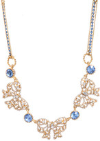 Betsey Johnson 3 Bow Necklace