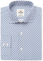 Ben Sherman Men's Slim-Fit Navy Geo Floral Dress Shirt
