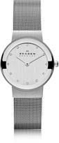 Skagen Freja Silvertone Stainless Steel Mesh Bracelet Women's Watch