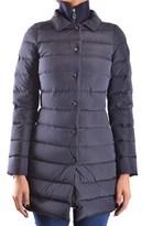 Peuterey Women's Blue Polyamide Down Jacket.
